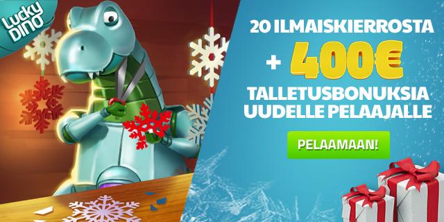 Joulukalenteri LuckyDino
