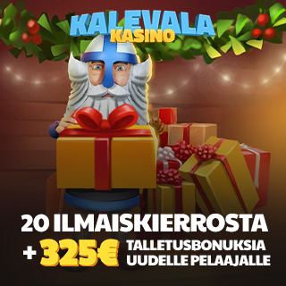 Joulu Kalevala Kasino